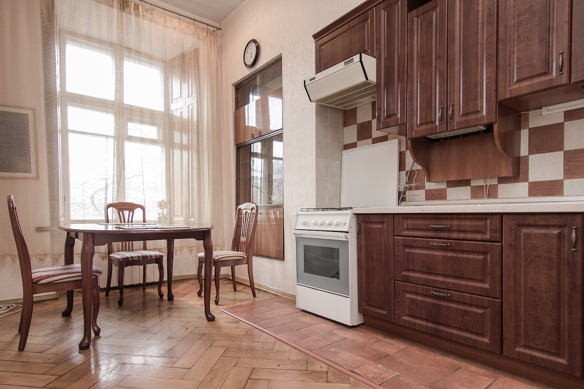 2-bedroom apt. near Deribasovskaya