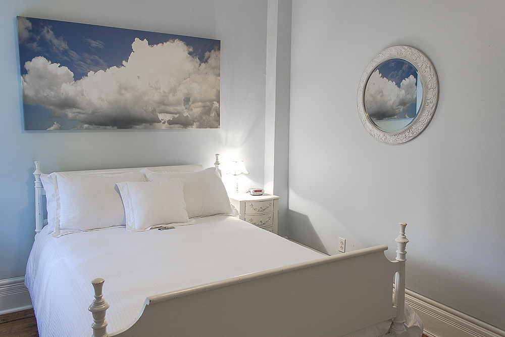 Private bedroom with standard (double) bed.
