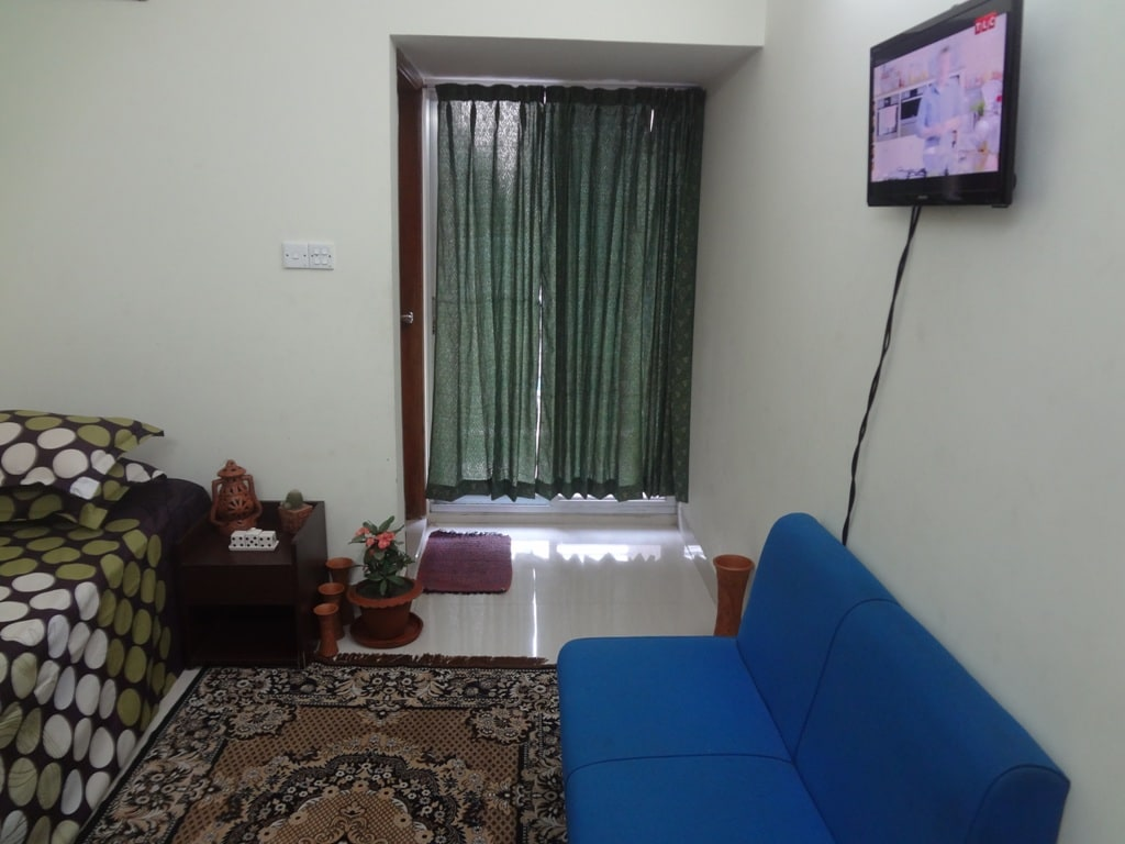 Inside decoration of my offered room