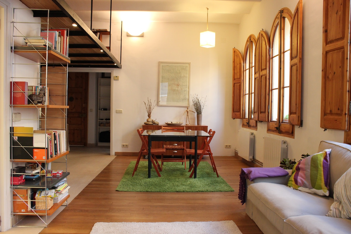 Cosy Apartment in Sarrià old town