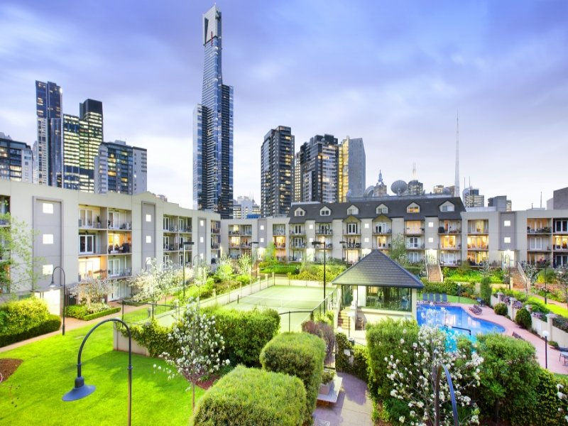Paradise in heart of Melbourne City