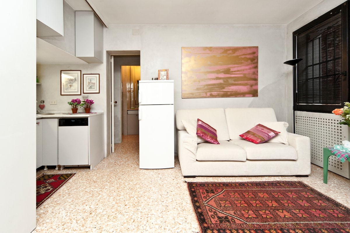 Lovely apartment by the Grand Canal