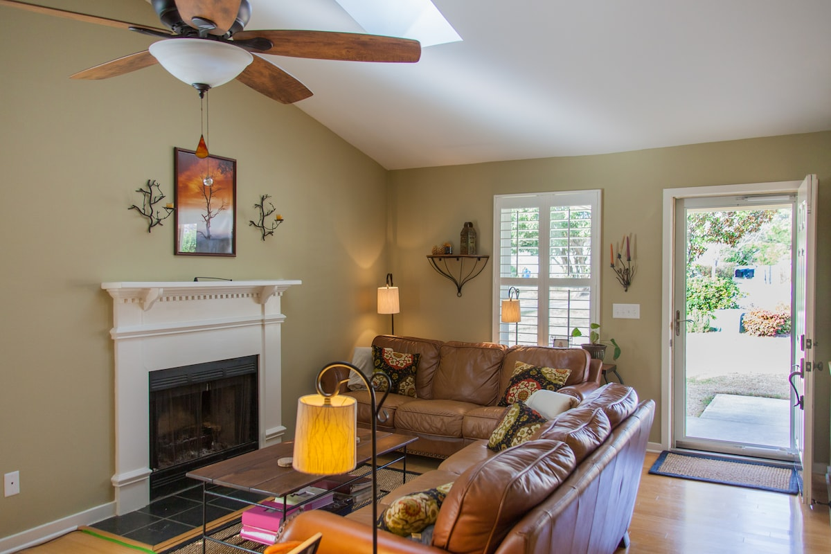 Relax and watch TV in the family room