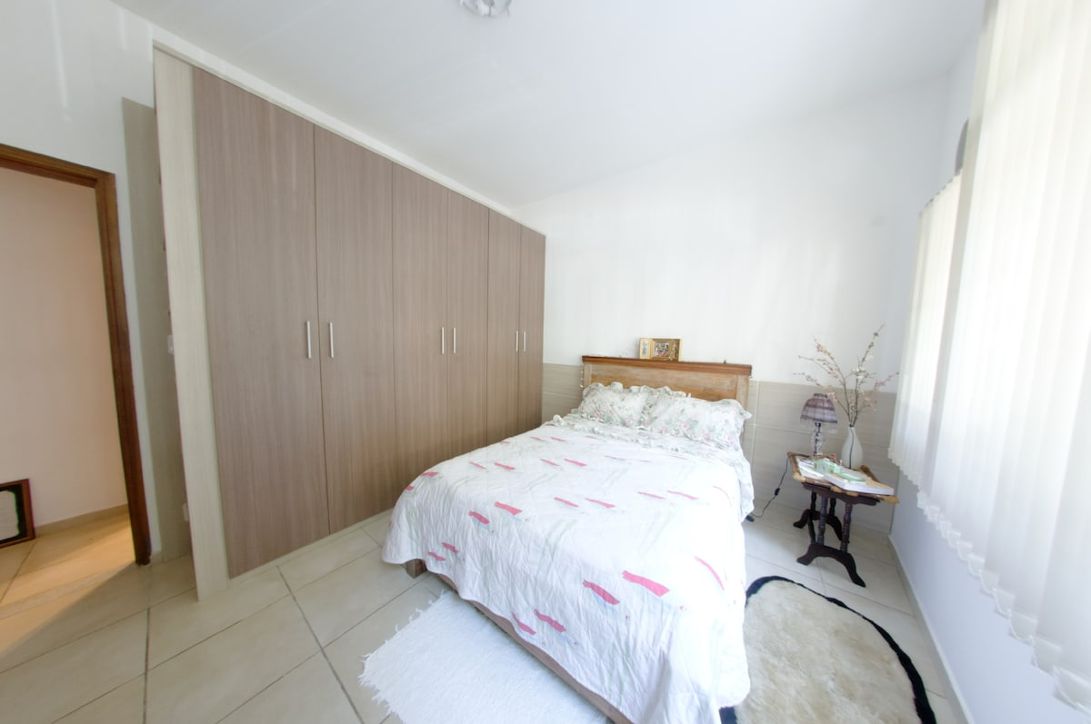 couple bedroom, wardrobe with space for your clothes