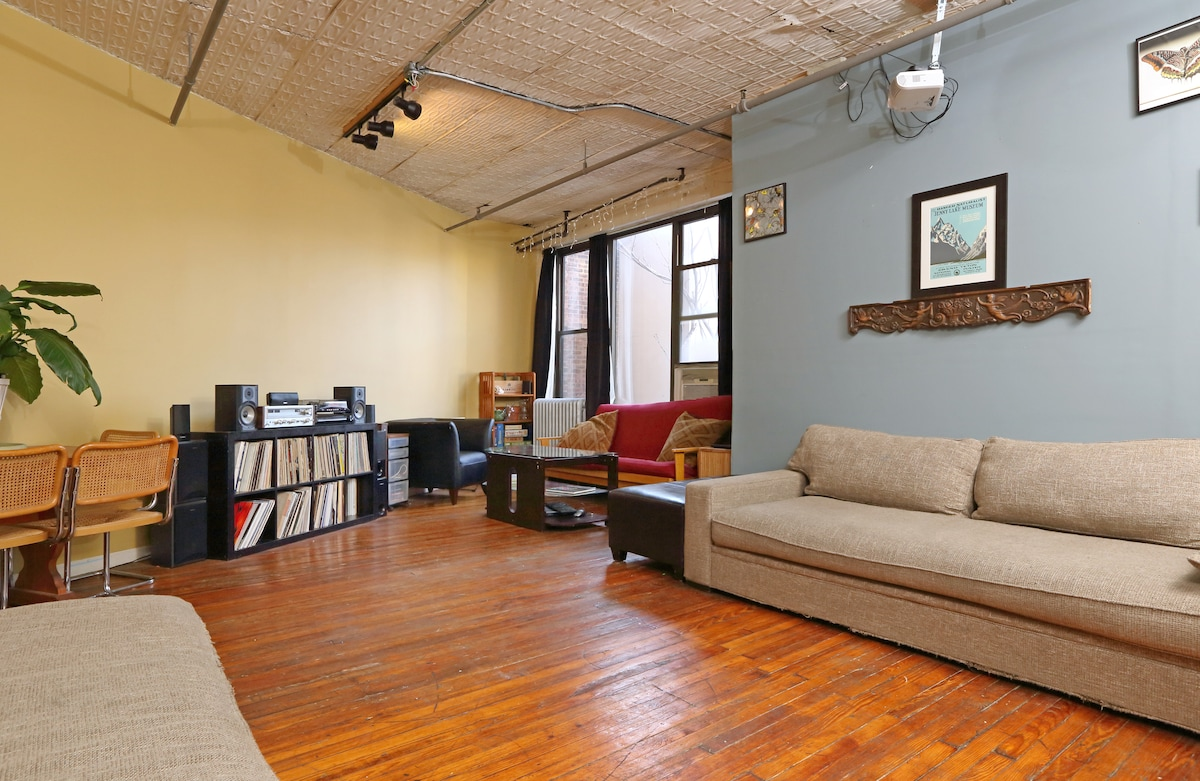 Spacious Williamsburg Loft @Bedford