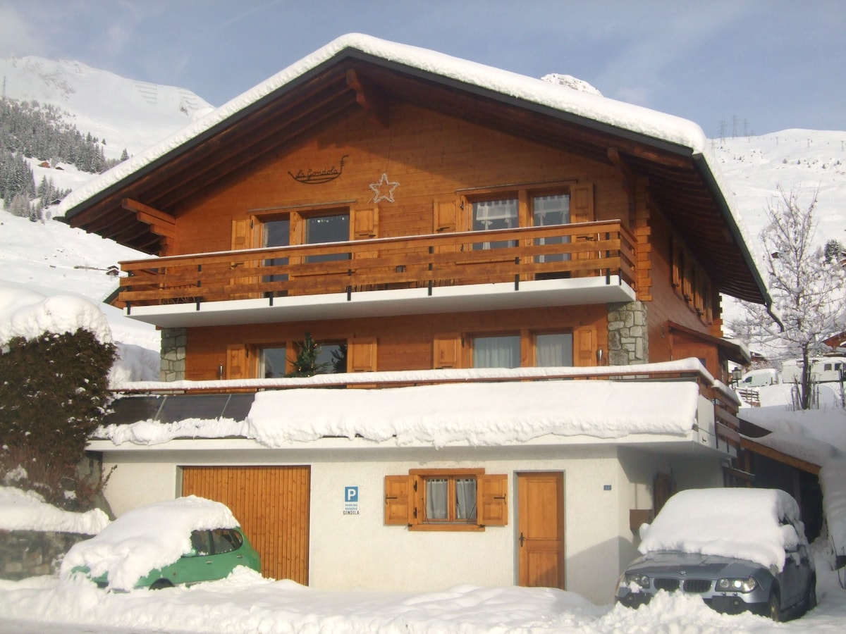 Cosy studio in Verbier
