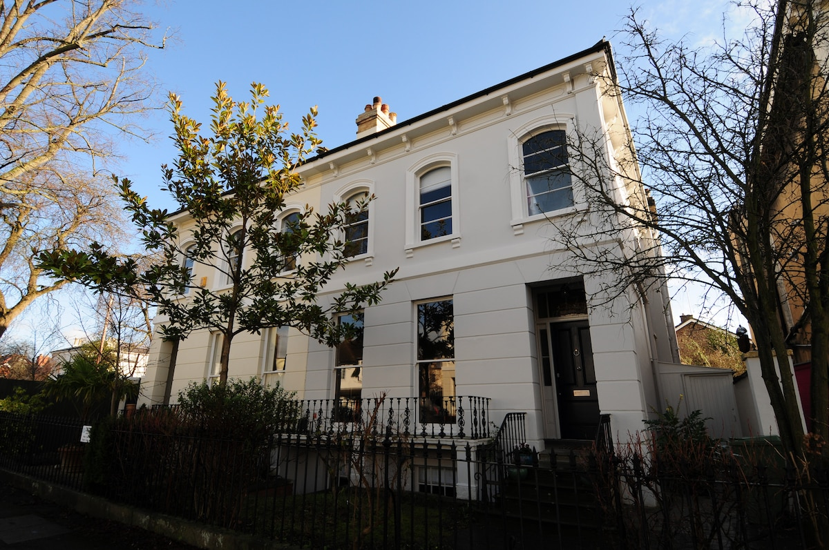 A beautiful Grade II listed Regency Villa, built circa 1830 and set on a quiet residential street