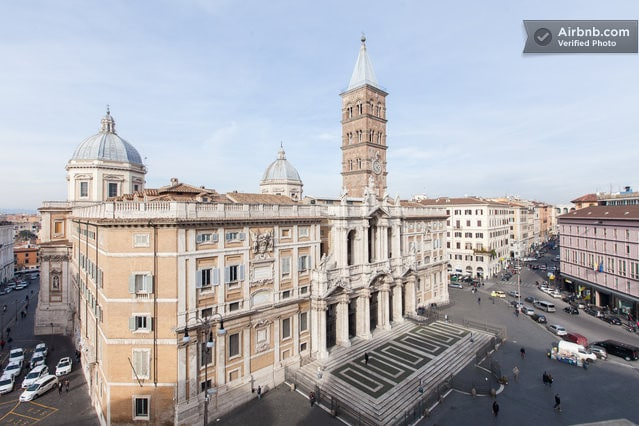 The Basilica of Santa Maria Maggiore, also known as Saint Mary of the Snow, the Liberian Basilica, is one of the four papal basilicas of Rome. Placed on top of the Esquiline Hill, is the only one to have kept the original structure early Christian.