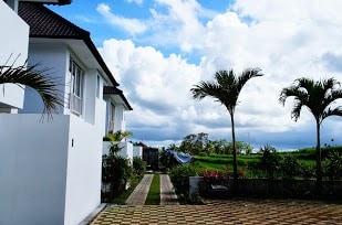 access to the villa