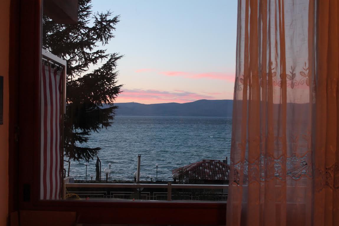 Amazing view on Bracciano Lake Rome