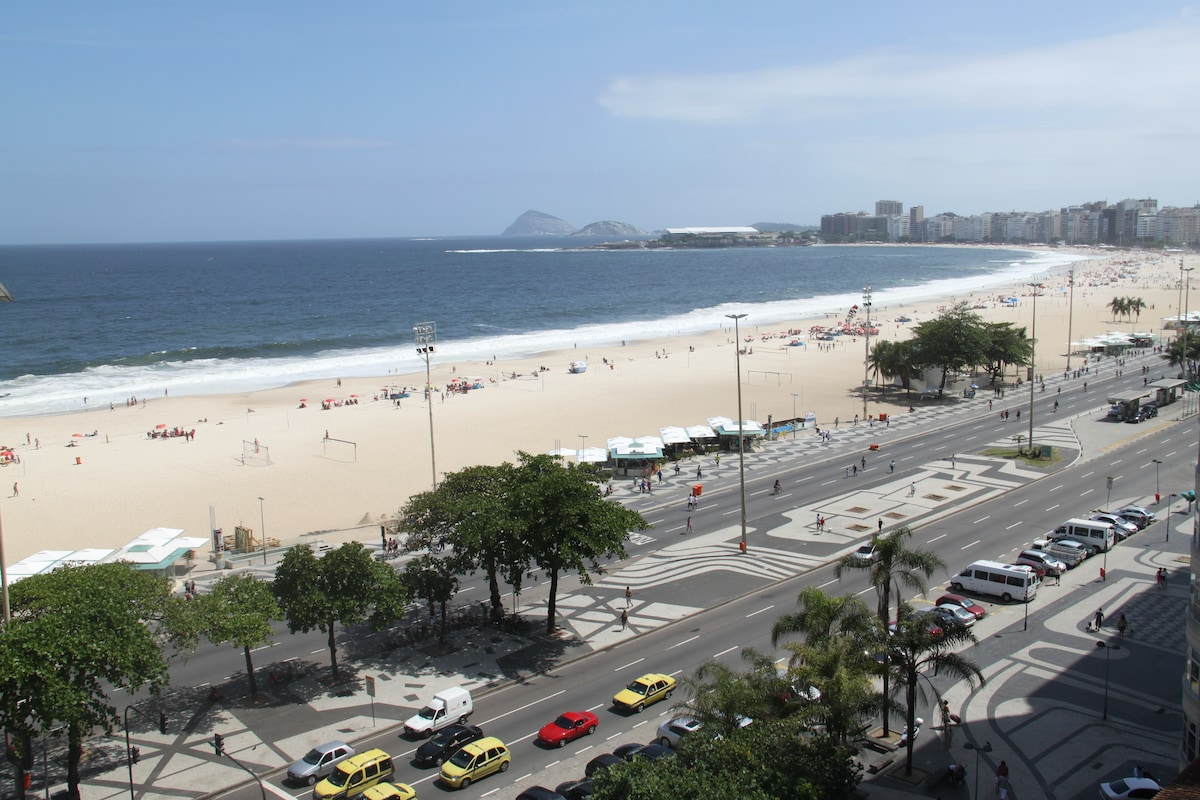 Curtis The apartment was in a great location with amazing views of the ocean and along Copacabana beach.