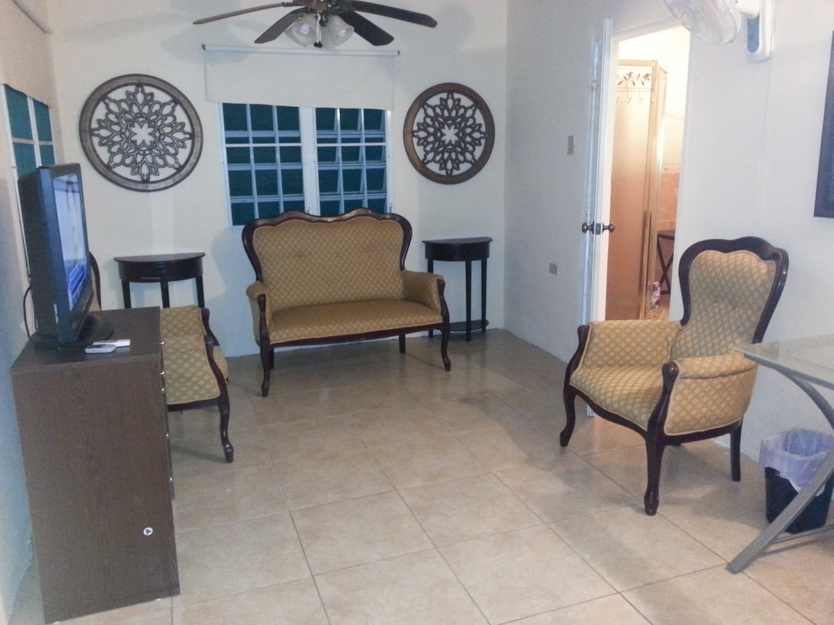 Apt with 2br fits up to 4 guest