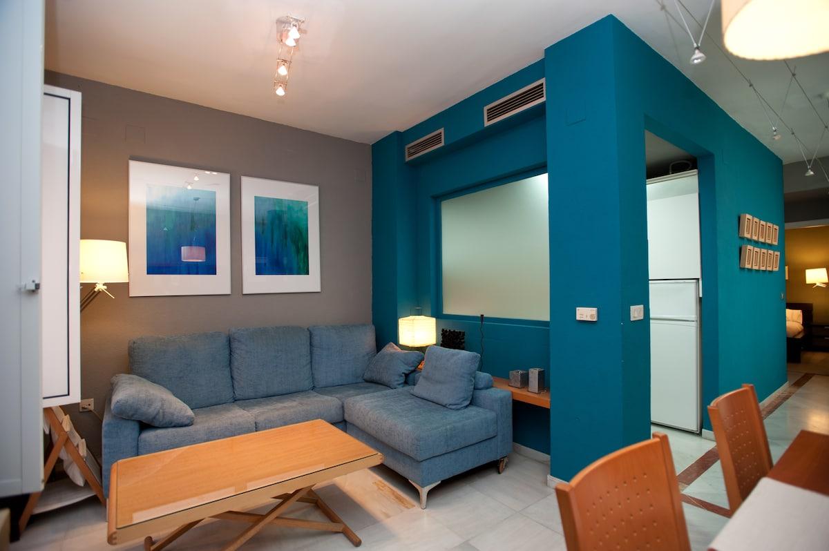 Salon + Comedor / Living room  + Dining room