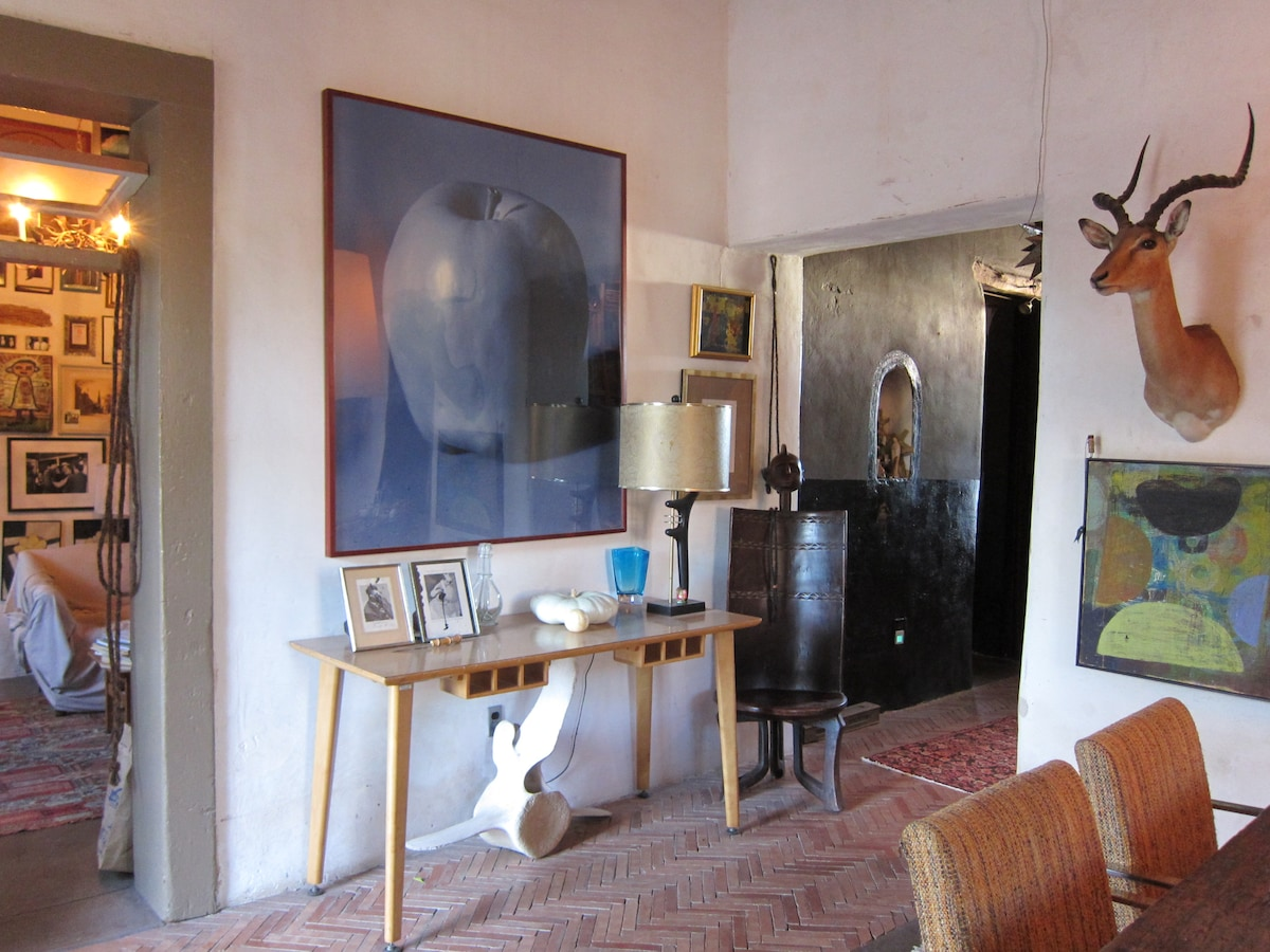 Surrounded by Adobe & Art...