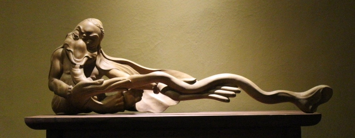 An example of one of my carving in the villa