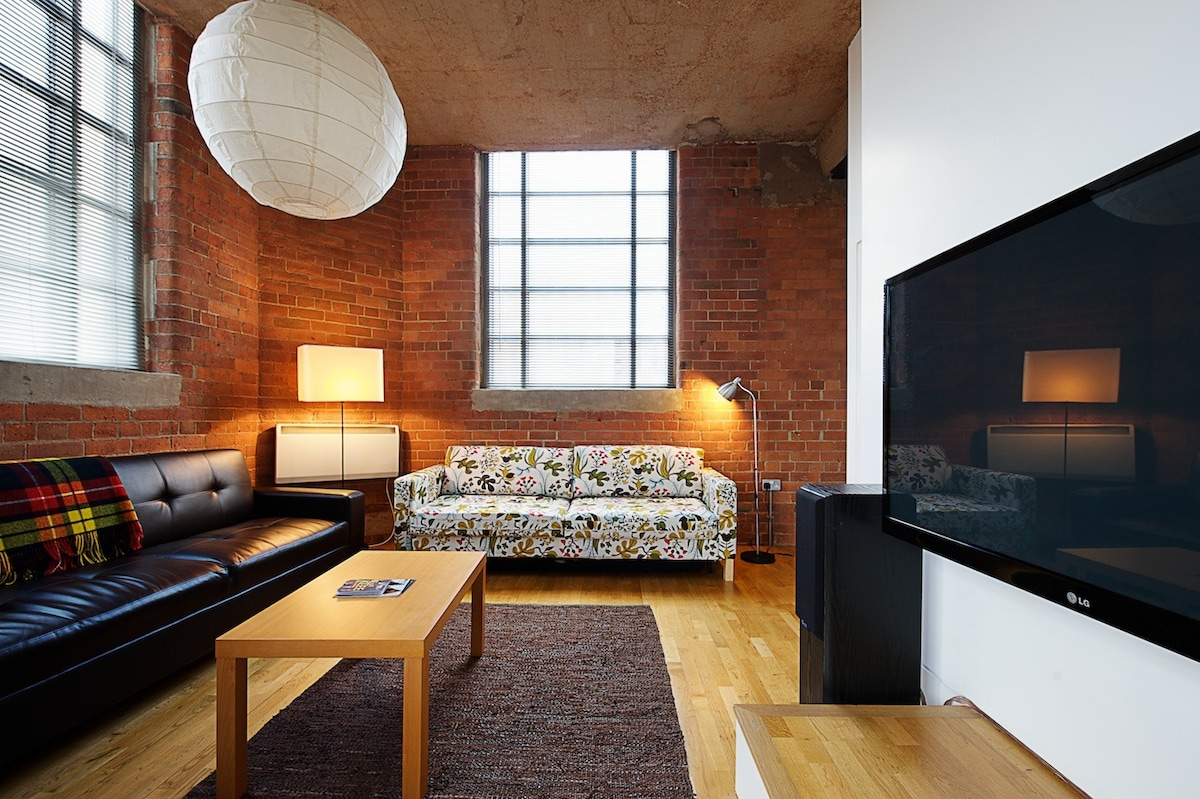 Central Manchester NY-style loft
