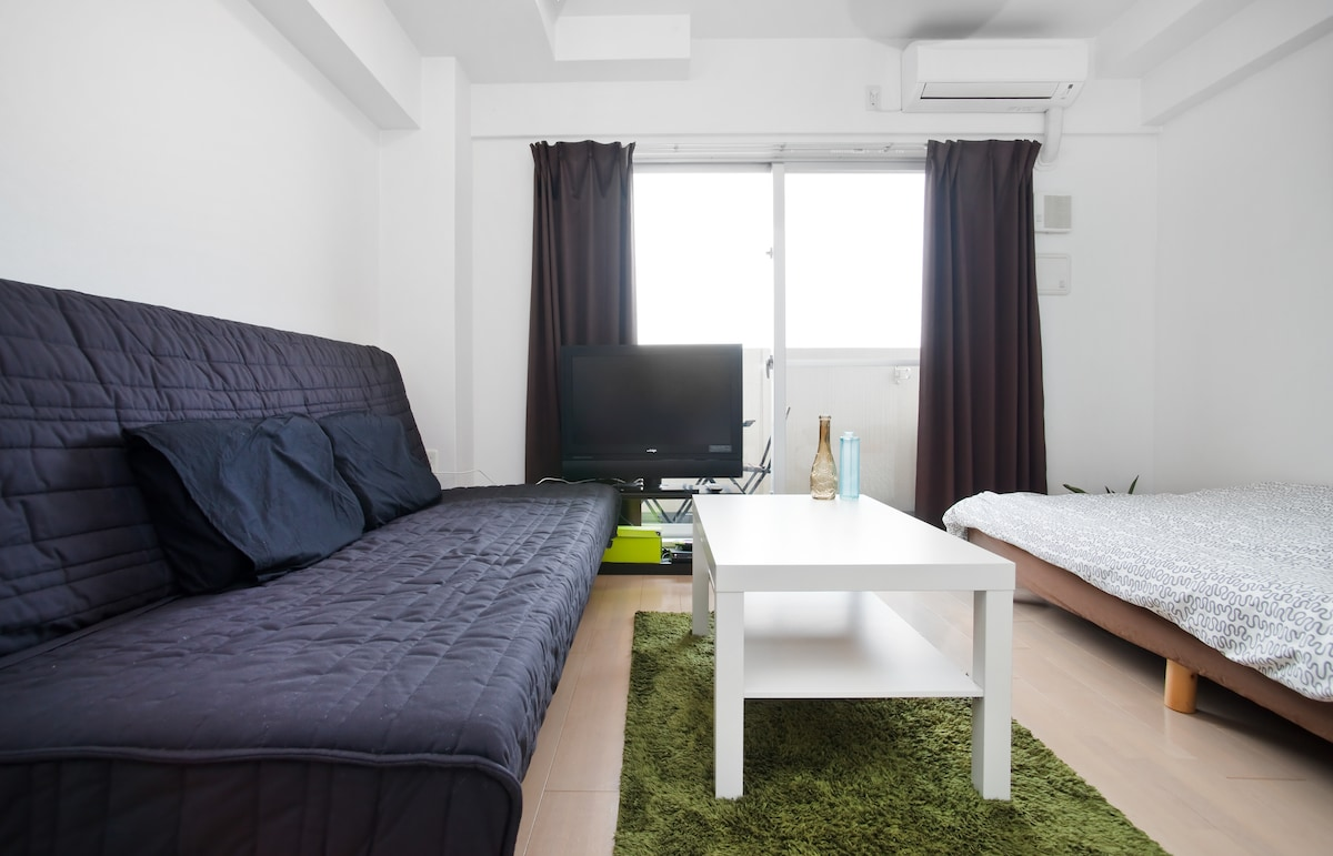 Plan your holiday in this luxurious and modern studio apartment for four. Includes TV!