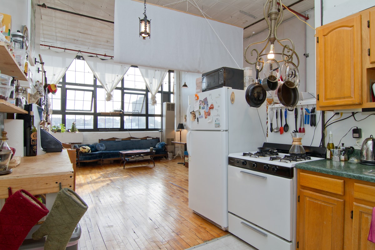 Sunny Loft 15 min. to Union Square