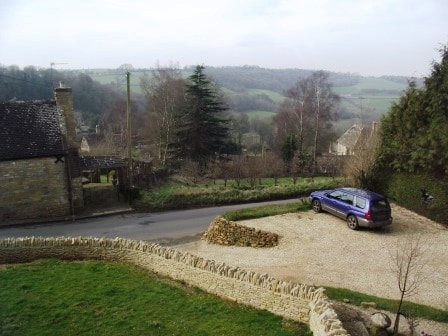 Cotswolds. Snowshill Glorious Views