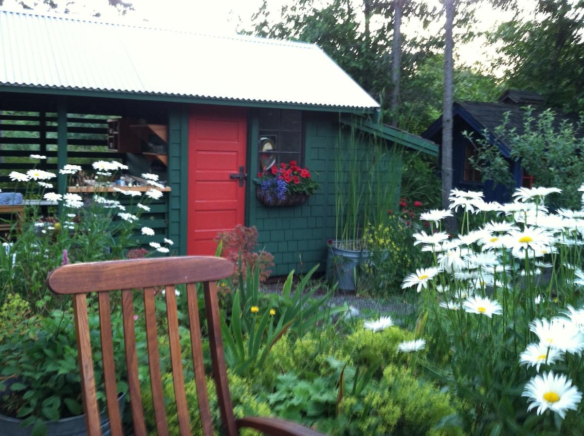 Garden Huts near Eastsound Village
