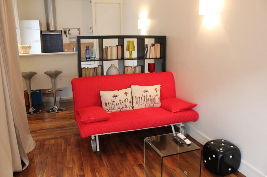 Wonderful studio Montmartre