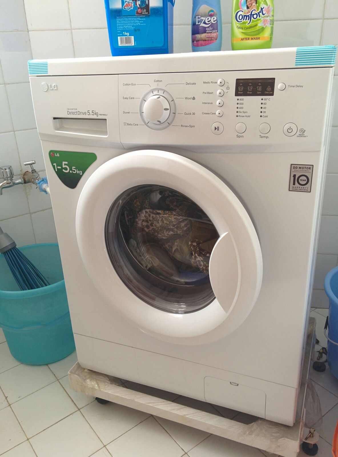Washing machine. All is under beautification process. Ready for Feb 2015.