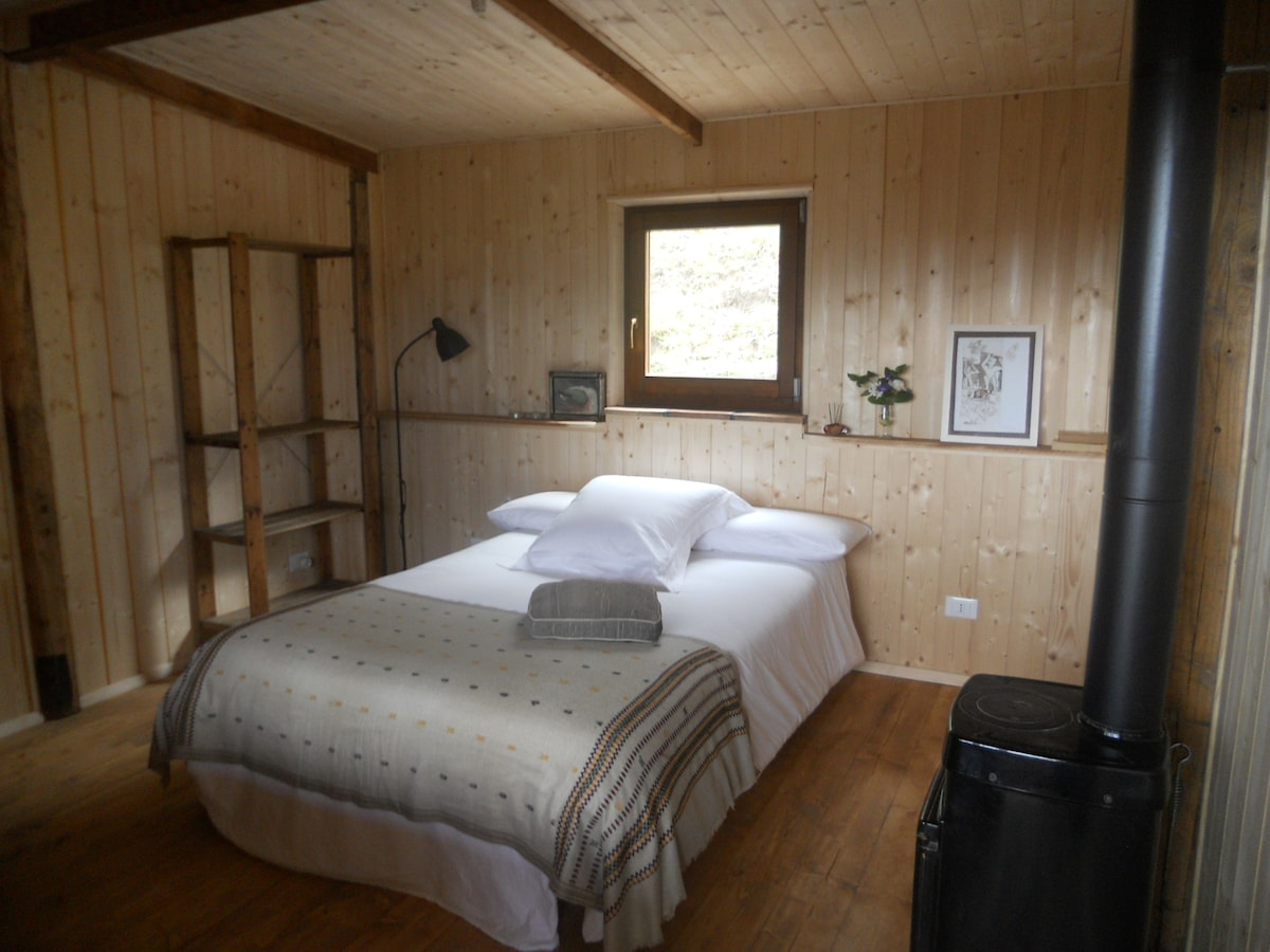 Double wood room in Amiata, Tuscany