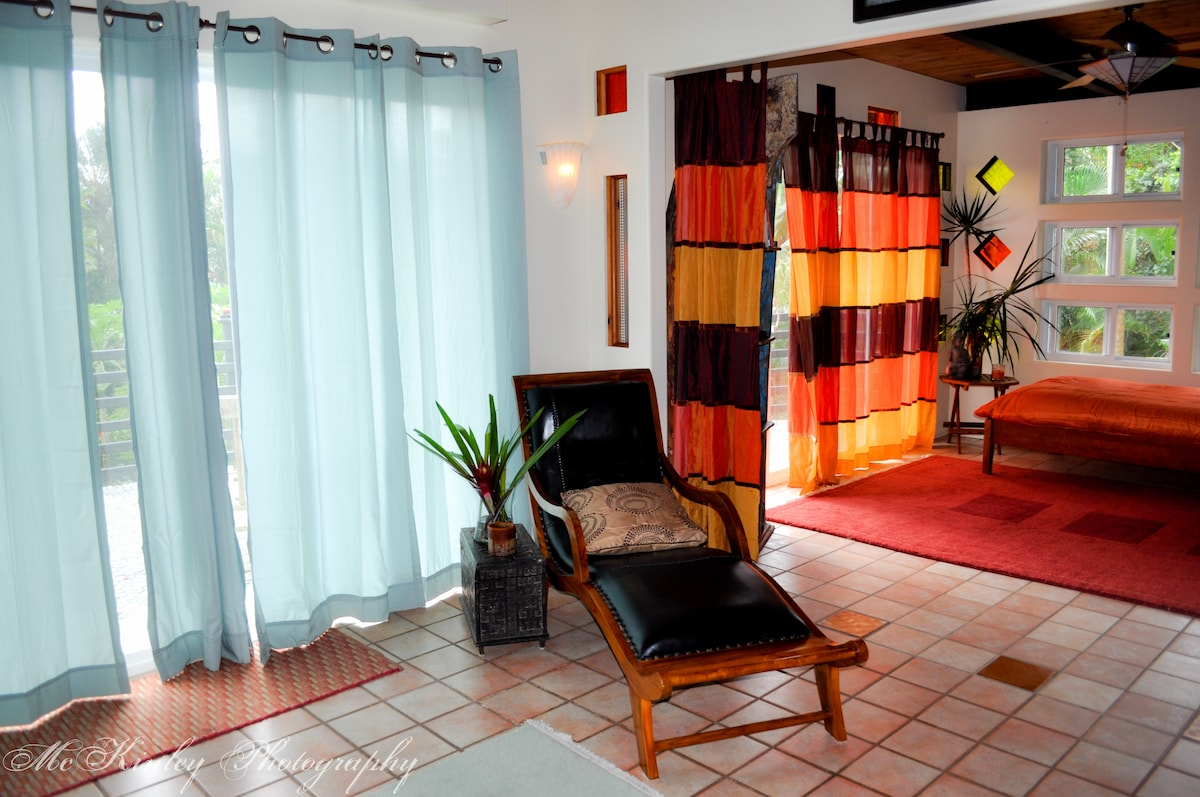 Lounge in comfort as you ponder the adventures the Big Island offers