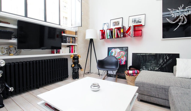 1BR Design Loft in Montmartre LP