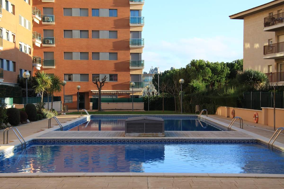 Apartment on the beach of Calafell
