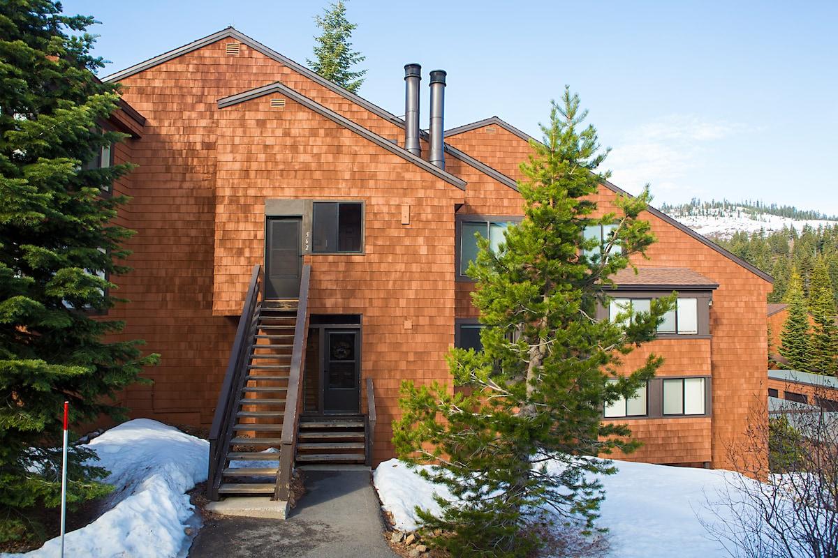 Ski-in/ski-out penthouse condo