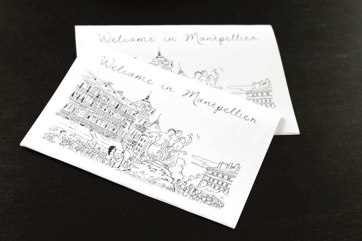 A little notebook with all the informations you'll need about Montpellier