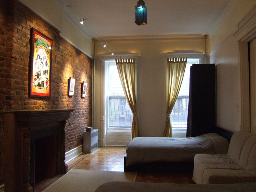 The extra-large Bedroom features (2) queen-size beds + (1) full-size sofa bed (each sleeps 2)...