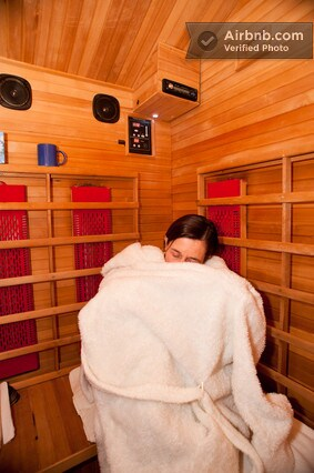 FAR Infra Red Sauna can be added for an Infusion Float to absorb more of the beneficial magnesium sulfate
