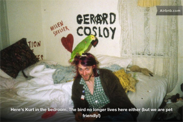 Kurt Cobain's Private 1b + 1bth
