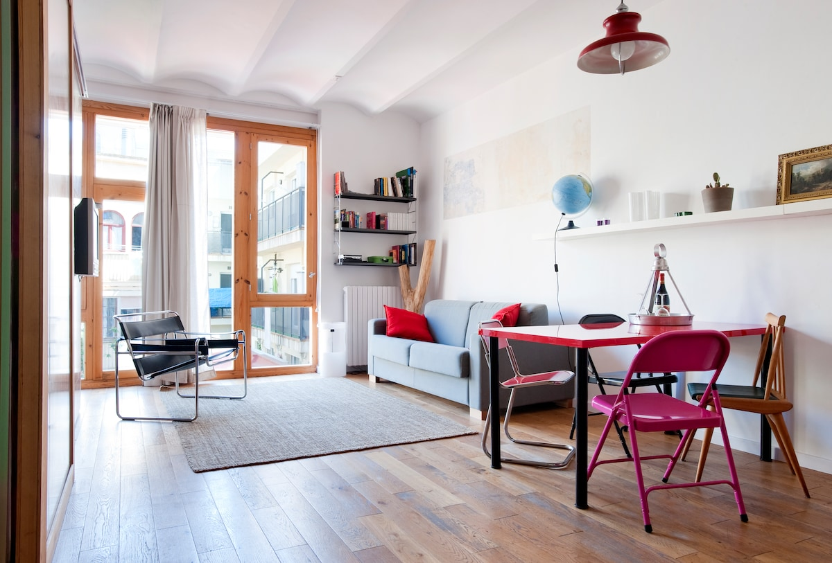 QUIET&CENTRAL APT. IN POBLE SEC