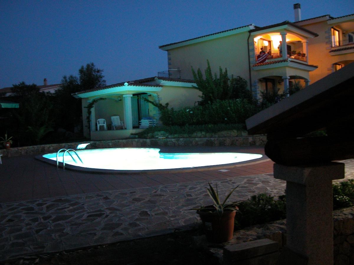 Lu Pitrali vista mare con piscina 2