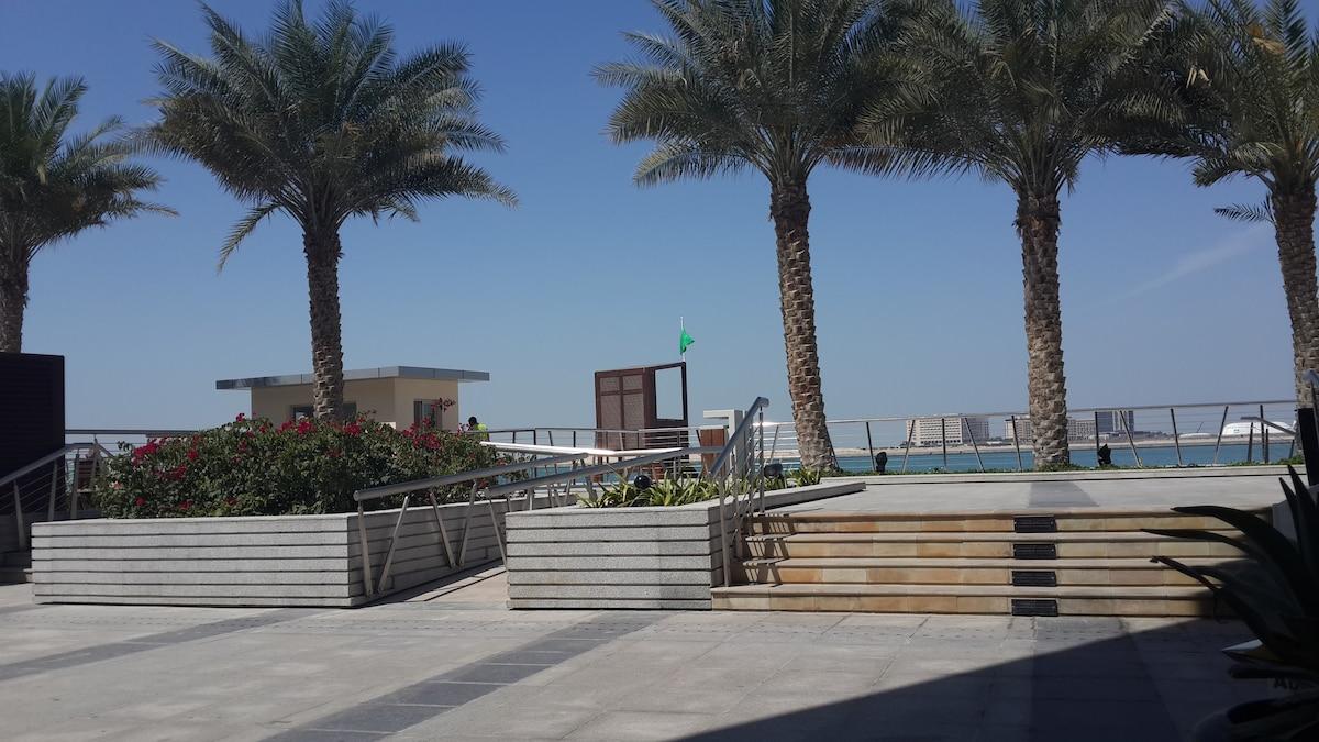 Al Raha Beach, Al Muneera Island