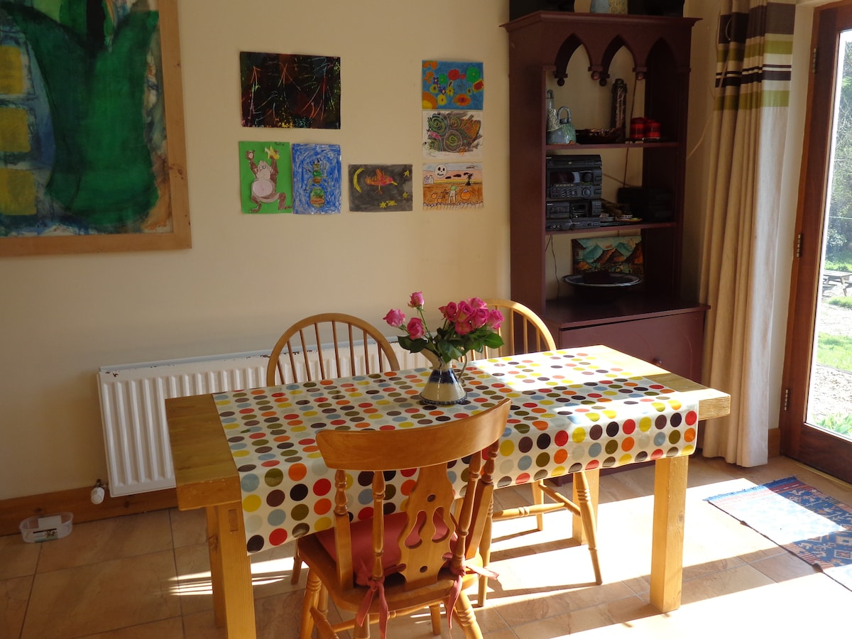 Our bright cheerfull kitchen.