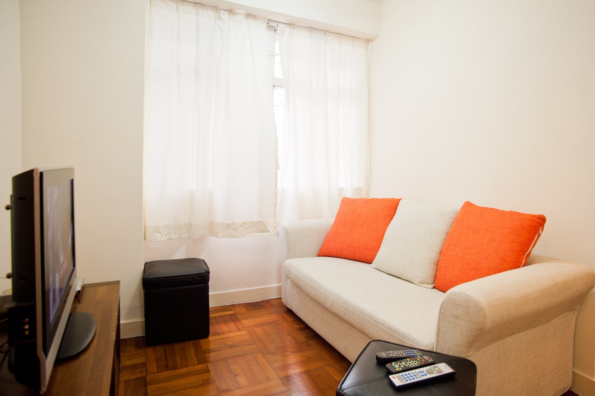 Clean, peaceful room in city center