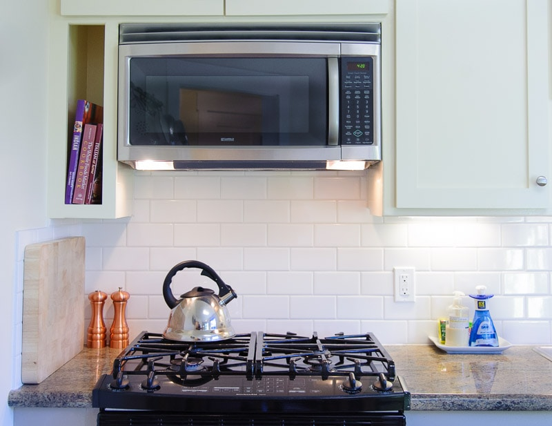 beautiful gas range to whip up that masterpiece on