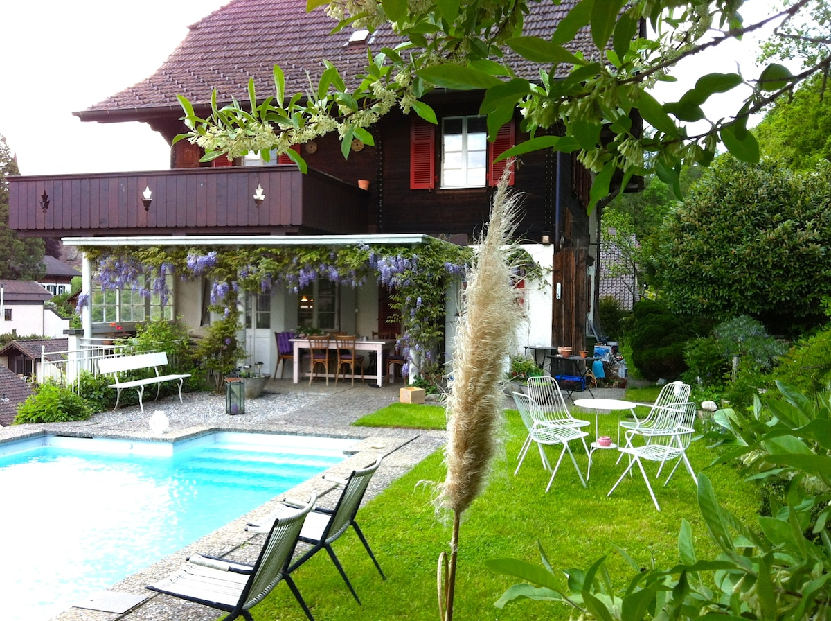 BnB with Terrace, View and Pool