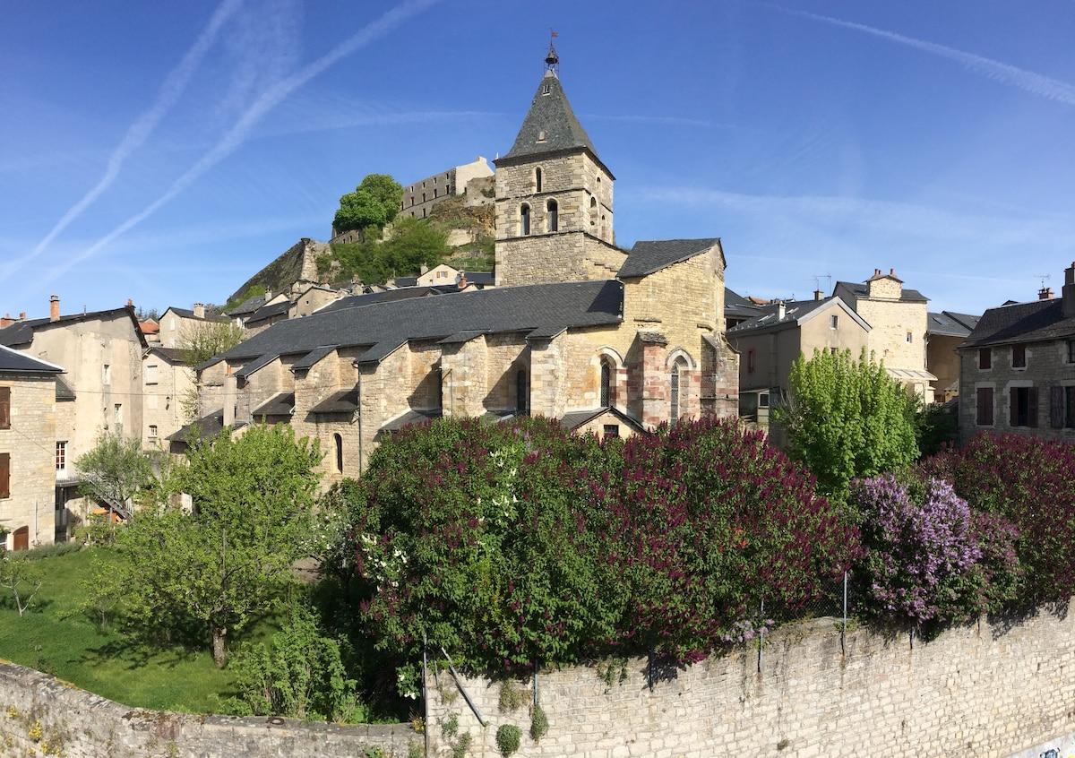 House in medieval castle village