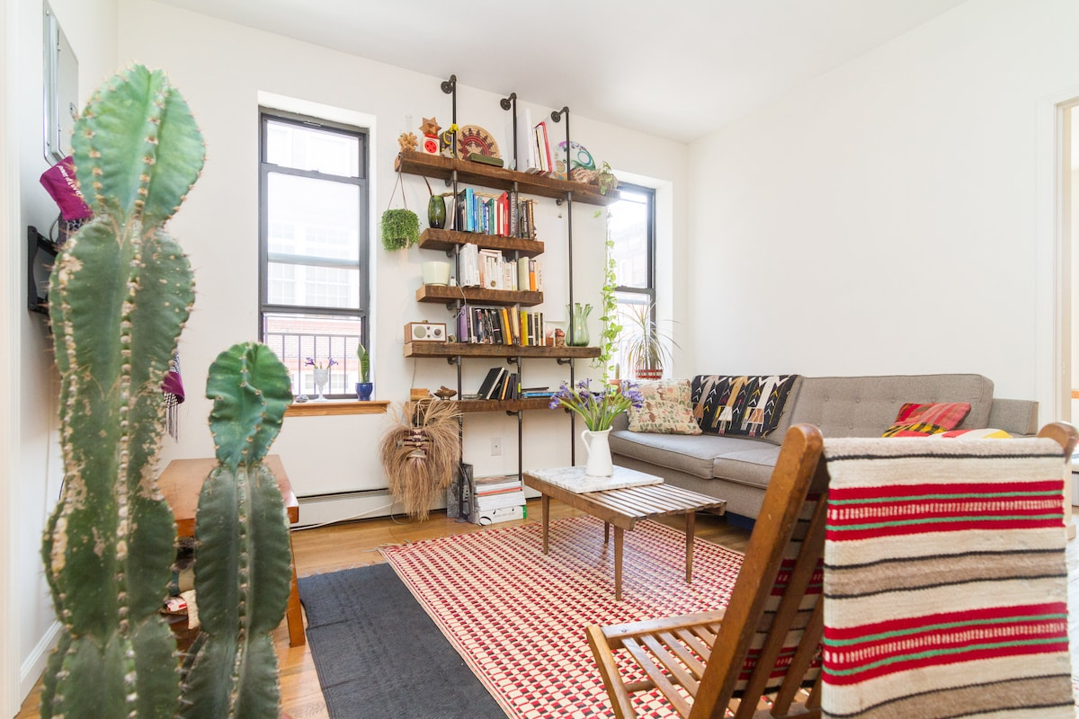 Lovely sun drenched apartment (LES)