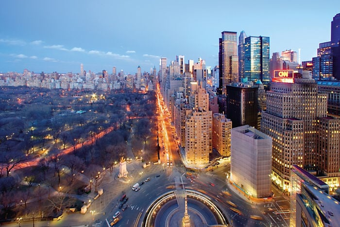 Only two blocks from Columbus Circle!