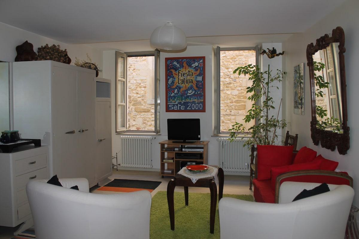 2 rooms flat near Grignan