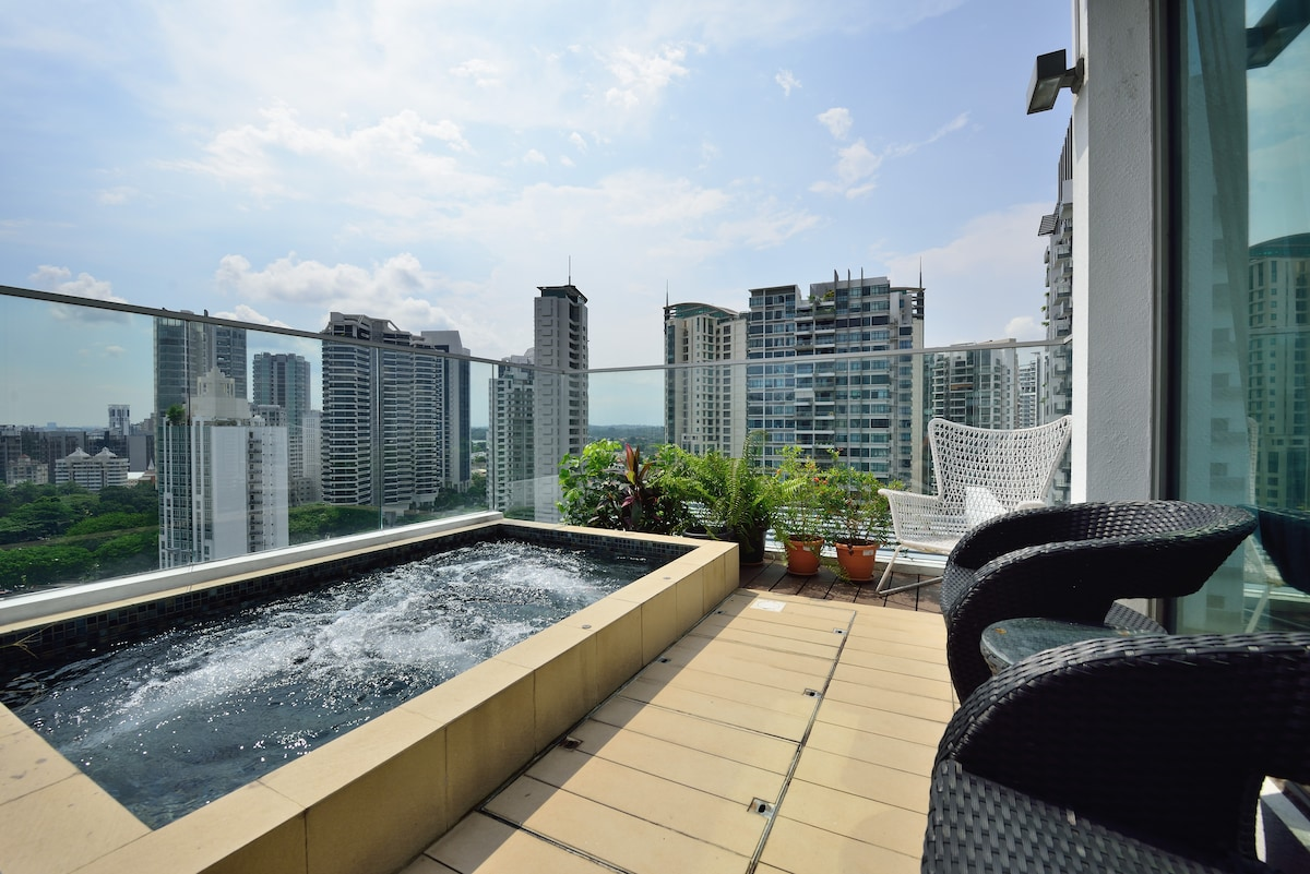 2 BR Penthouse Newton/Orchard