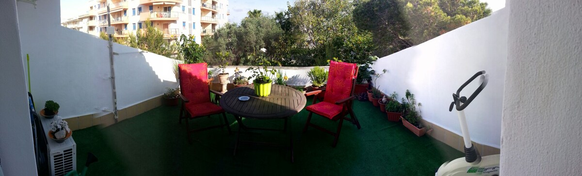 Double room with terrace and bathro