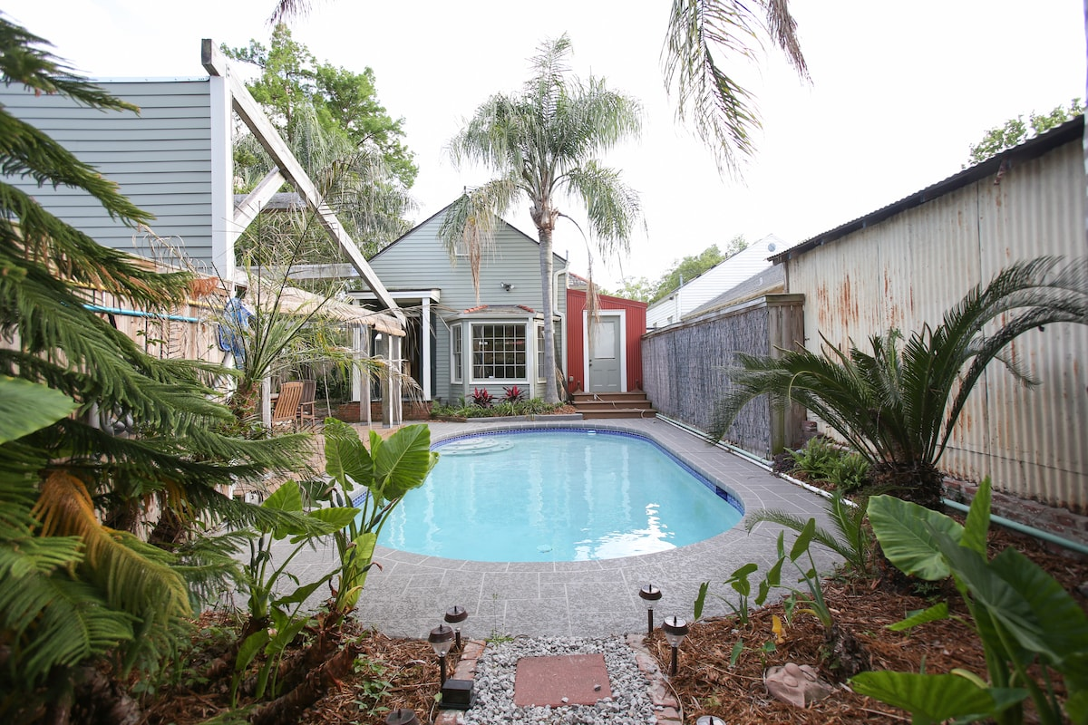 Pool Cottage in Bayou St. John