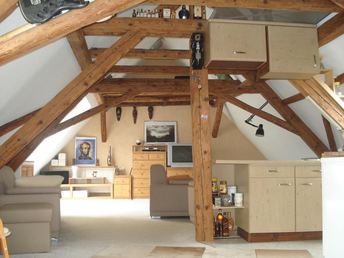 gemütliches Dachgeschoss-Apartment
